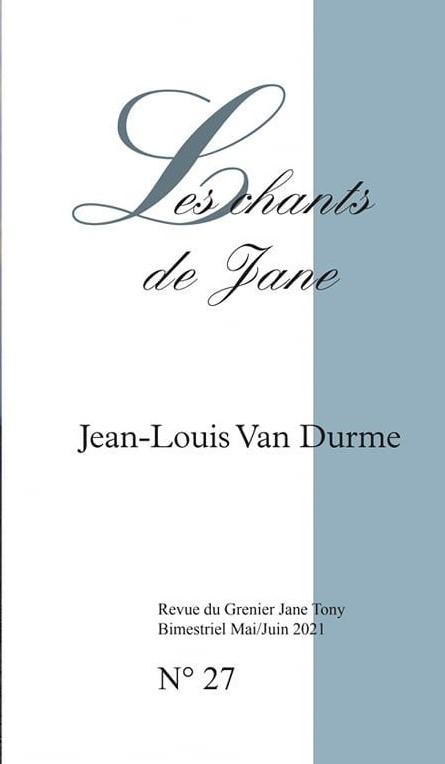 JEAN-LOUIS VAN DURME - Les Chants de Jane n°27